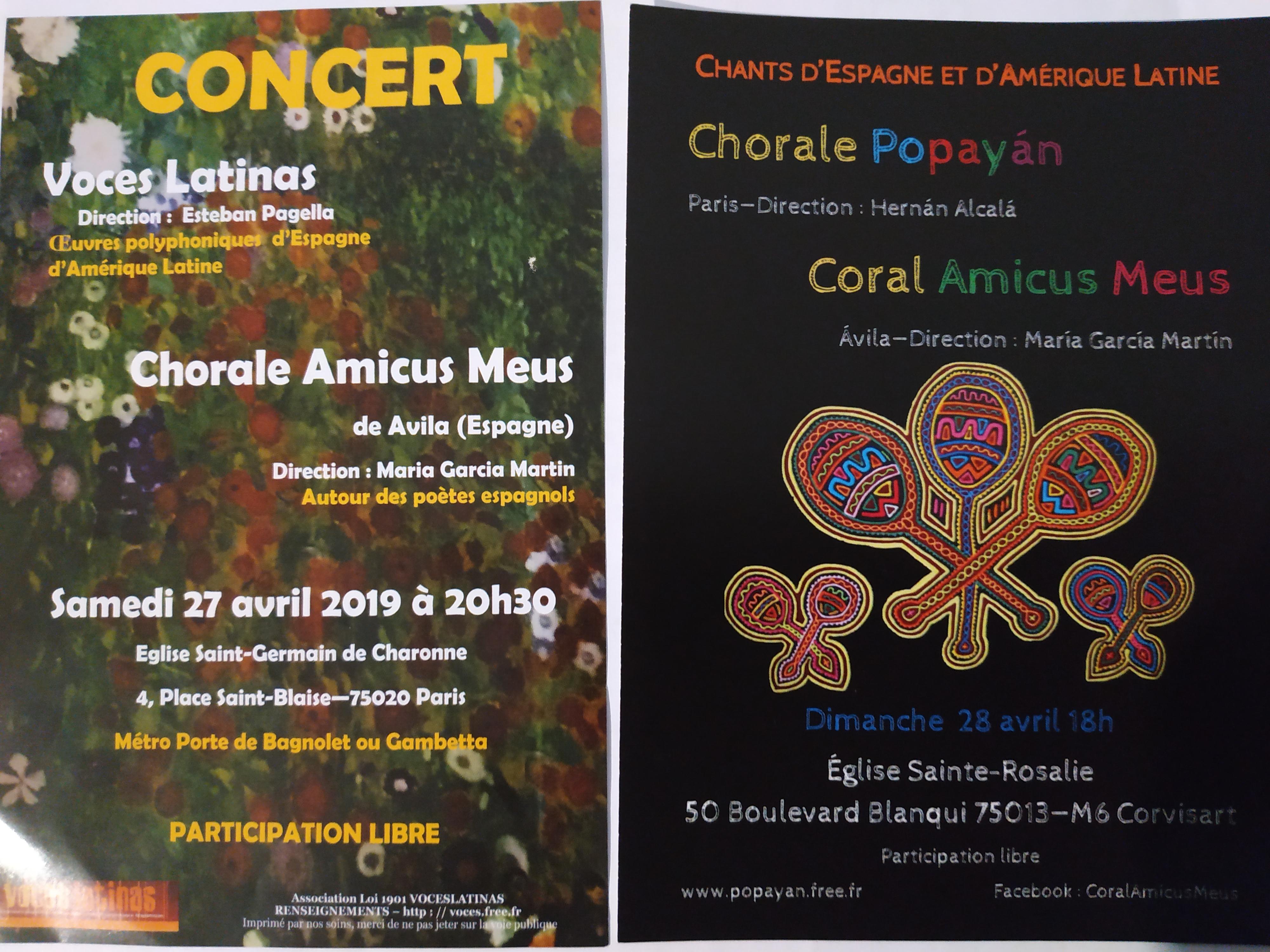 Conciertos en París