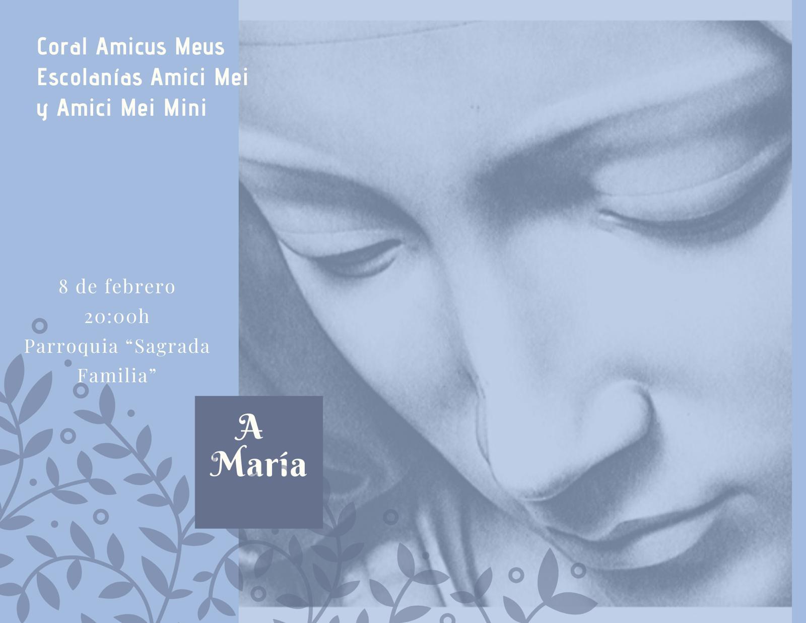 A María